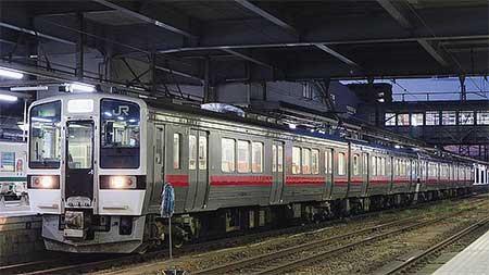 719系が秋田地区で営業運転を開始