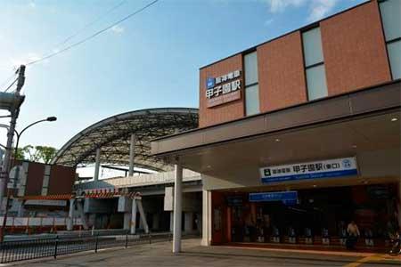 阪神,甲子園駅の列車接近メロデ...