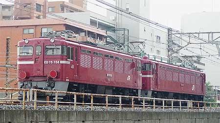 ED75 758が秋田へ