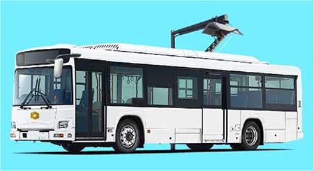 電気バスの車体イメージ(車体デザインは制作中)