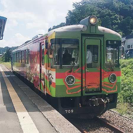 京都丹後鉄道で『パフォーマンス列車』運転