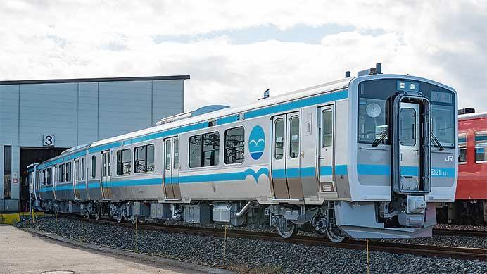 キハE130系500番台が公開される