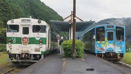 錦川鉄道でキハ40 1009が営業運転を開始
