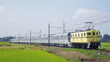 東京メトロ13000系第14編成が甲種輸送される
