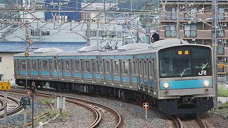 205系1000番台が奈良支所へ