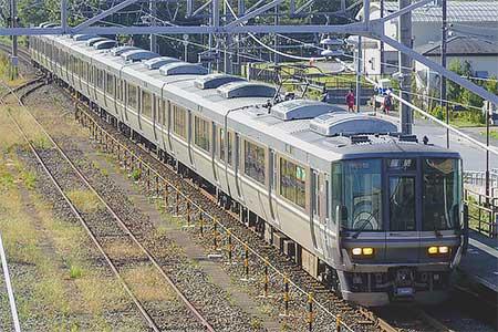 北陸本線で223系による臨時列車運転|鉄道ニュース|2017年10月9日掲載 ...