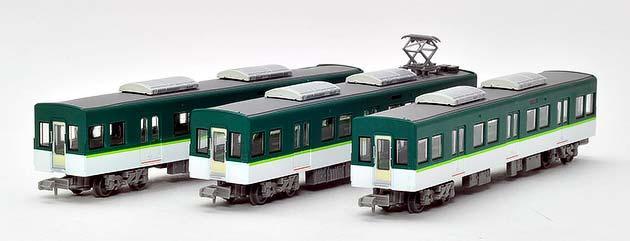 「京阪電車13000系(増結)中間車 3両セット」