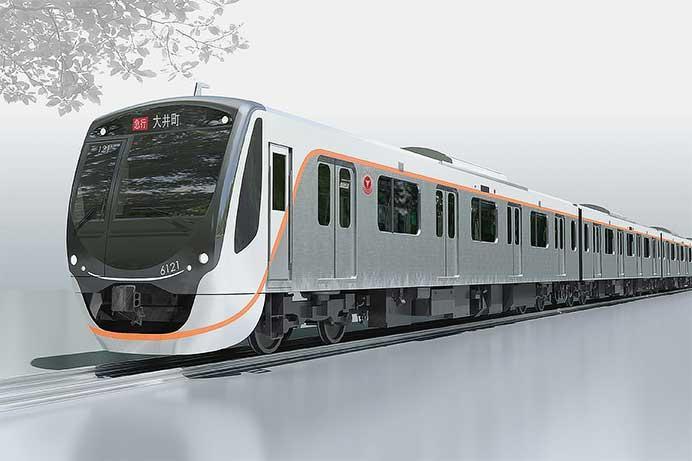 6020系のエクステリアイメージ(東京急行電鉄提供)