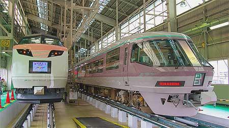 長野総合車両センターが一般公開される