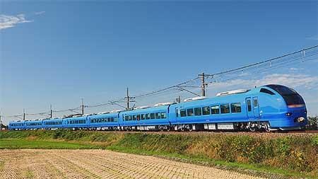 瑠璃色となったE653系U106編成が営業運転を開始