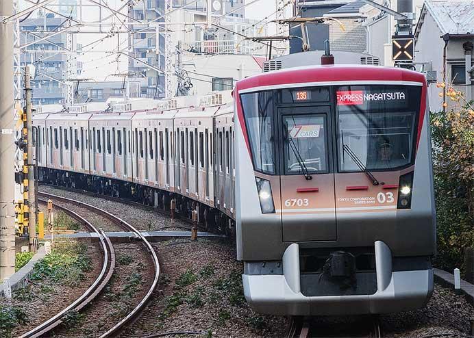 東急大井町線で7両編成の急行列車の運転開始