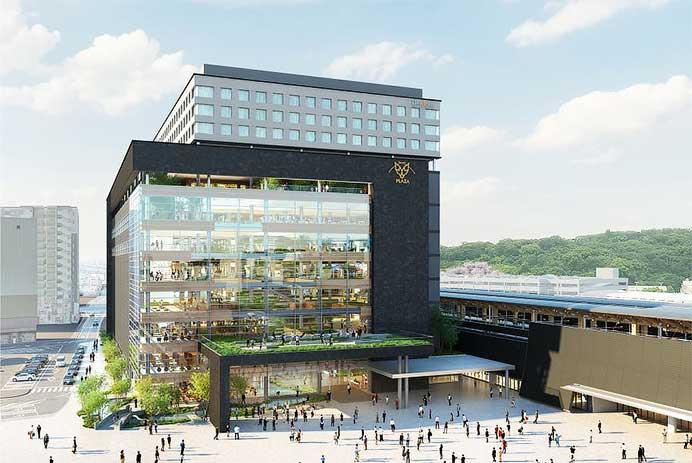 JR九州,熊本駅ビルの概要を発表