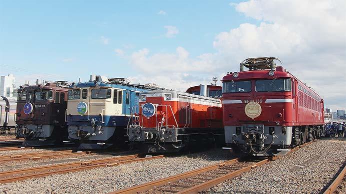 尾久車両センターで『ふれあい鉄道フェスティバル』開催