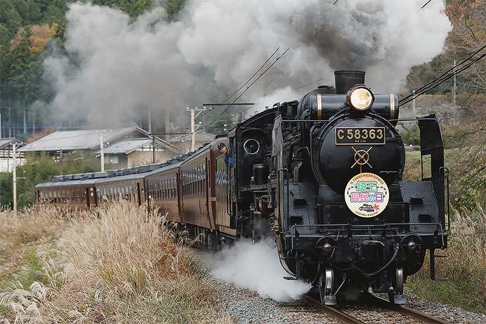 秩父鉄道で「SL埼玉県民の日号」運転