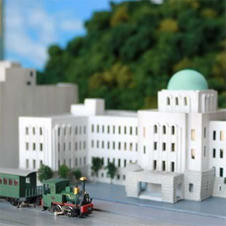 伊予鉄道,「坊っちゃん列車ミュージアム」に走る鉄道模型を常設展示