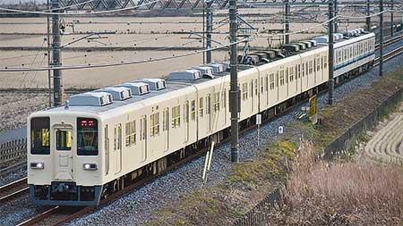 東武8000系81111編成が南栗橋車両管区へ