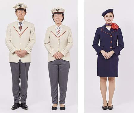 小田急,2018年3月から「ロマンスカー」担当乗務員とアテンダントの制服デザインを一新