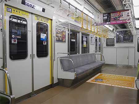 京都市営地下鉄の優先座席エリアがリニューアルされる