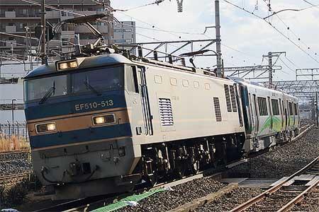 あいの風とやま鉄道521系1000番...