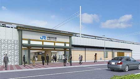 JR総持寺駅