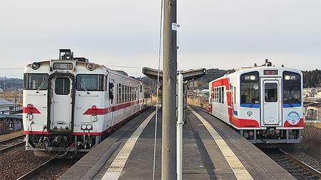 八戸運輸区のキハ40形が三陸鉄道北リアス線へ