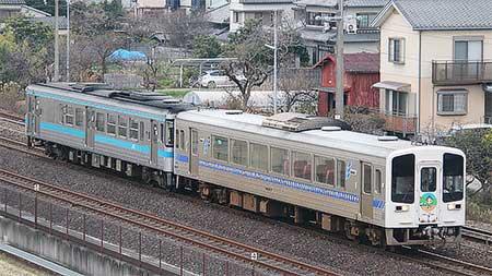 土佐くろしお鉄道9640形が高知運転所へ