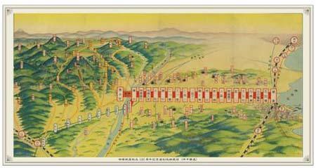 「復刻版路線図(イメージ)」