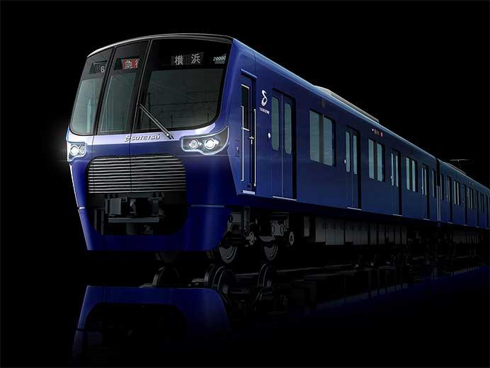 相鉄20000系,2月11日から営業運転を開始