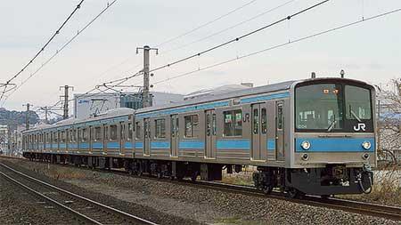 205系1000番台が京都支所へ