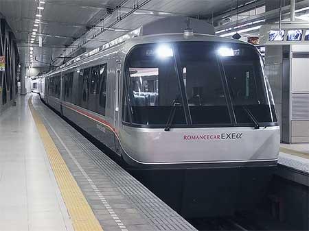 小田急30000形「EXEα」2本目が営業運転を開始