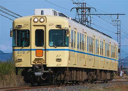 一畑電車で2102号引退イベント列車運転