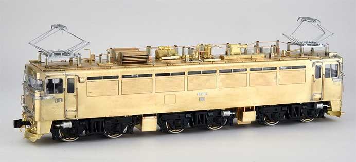 カツミ,EF80形(1次形)車体キットを発売