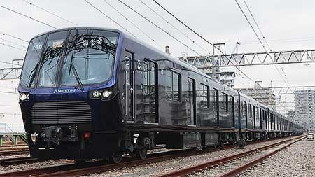 相模鉄道20000系が公開される