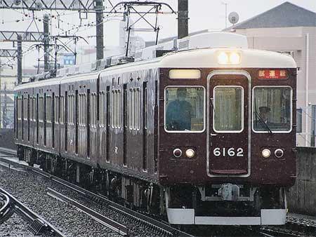 阪急6000系6012編成が4連化される