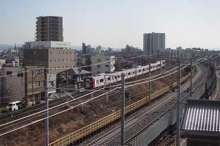 名古屋本線(現在線・仮線)