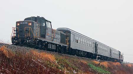 日田彦山線で50系700番台による団臨運転
