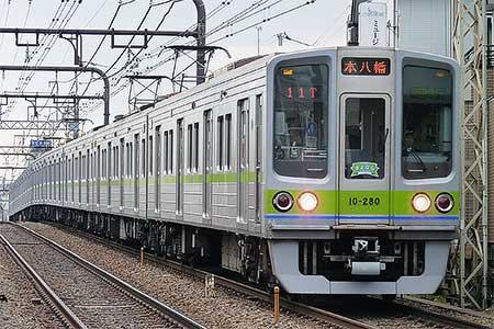 都営新宿線10-000形8次車が営業運転終了