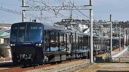 相鉄20000系が営業運転を開始