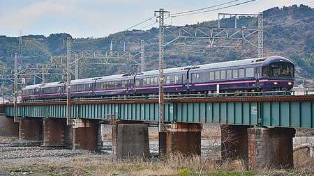 485系「華」がJR東海線内へ