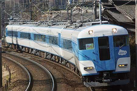 近鉄15200系のよる『ひまわり号』運転