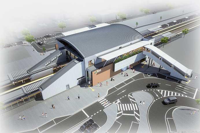 JR東日本,常磐線神立駅橋上駅舎・自由通路の一部供用を3月下旬に開始