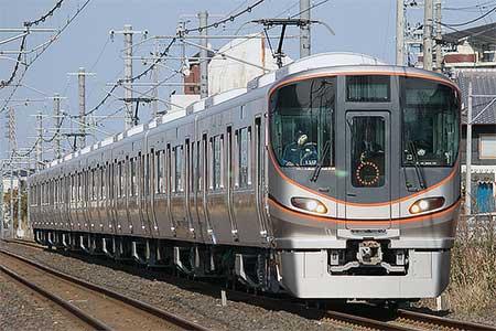 323系が日中,関西本線を走行|...