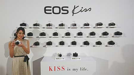 EOS Kissシリーズは発売から25周年を迎える