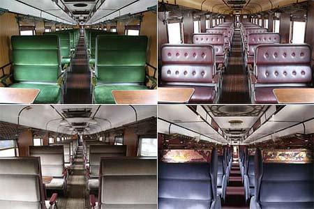 12系客車内装