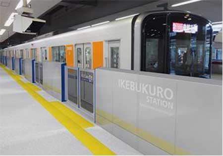 東武東上線池袋駅で4月21日からホームドアの使用を開始
