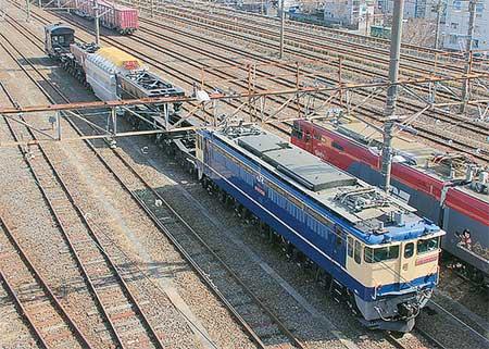 シキ611を使用した特大貨物列車運転