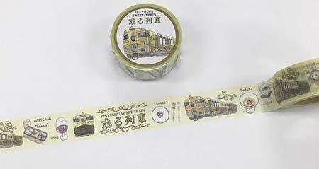 「JR九州列車マスキングテープ」第2弾発売