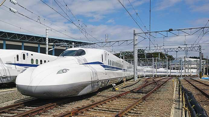 「N700S」確認試験車が公開される