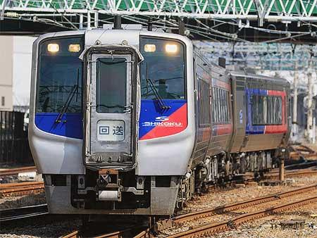 N2000系3両が松山運転所へ