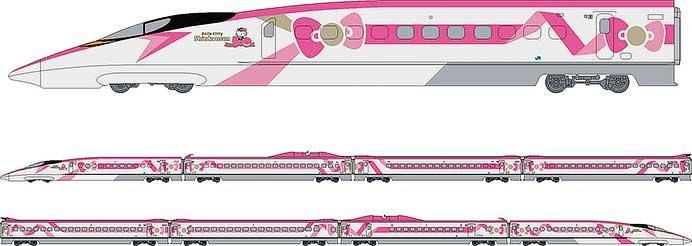 JR西日本×サンリオ,2018年夏から「ハローキティー新幹線」を運転